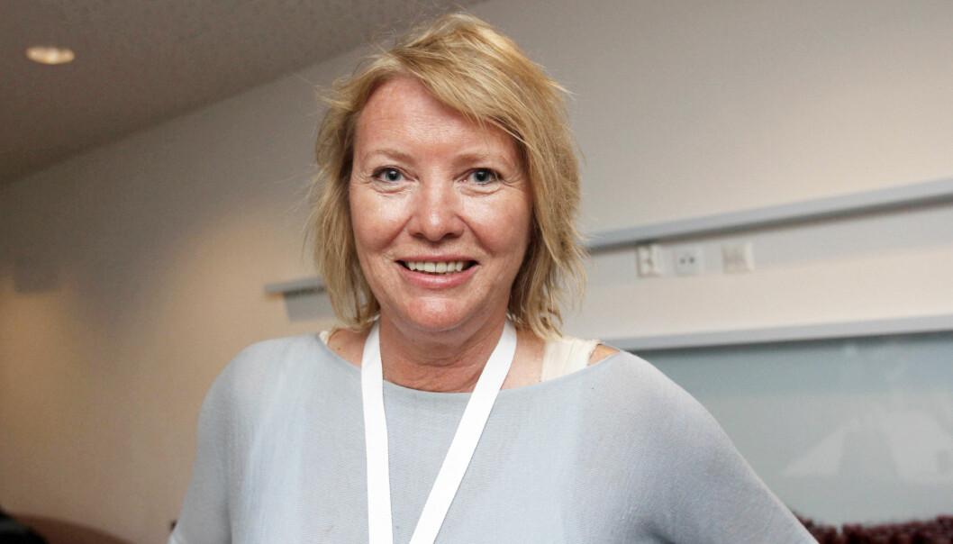 Marie Simonsen under Mediedagene i Bergen. Foto: Birgit Dannenberg