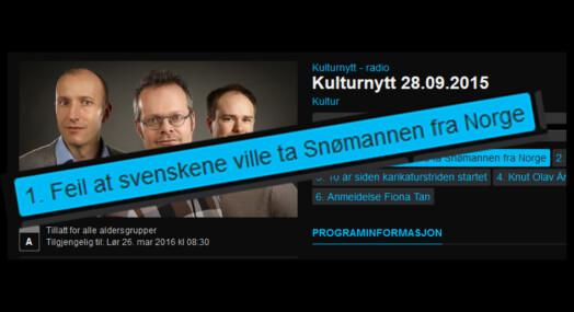 Aftenpostens artikkel var basert på oppspinn, slår NRK fast uten å snakke med Aftenposten