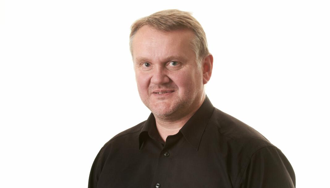 Trønder-Avisas sjefredaktør John Arne Moen rykker opp og blir nå også konsernsjef for hele mediehuset. Foto: Trønder-Avisa