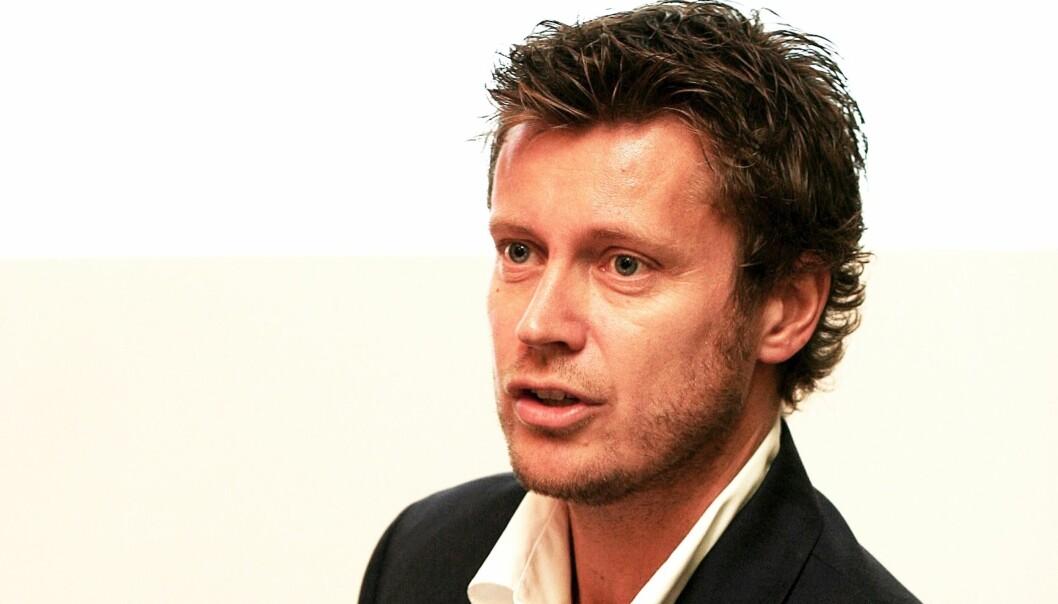 Trygve Rønningen er administrerende direktør i mediekonsernet MTG Norge. Foto: Birgit Dannenberg