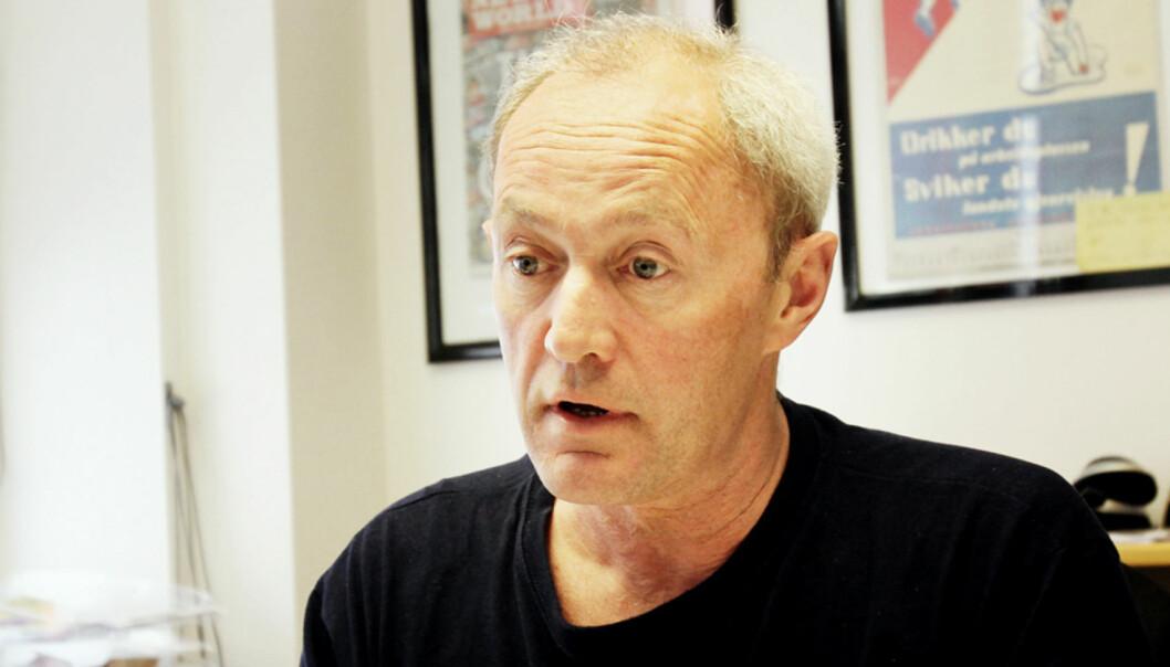 Thomas Spence har sendt forslag på vegne av Norsk Journlaistlag til Norsk Presseforbunds styre. Foto: Birgit Danneberg