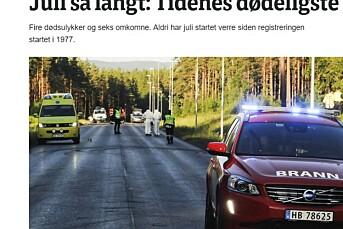 NRKs statistikk på ville veier