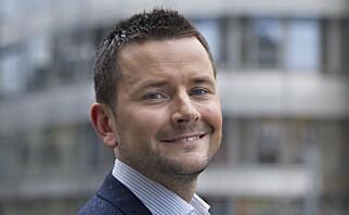 Ansvarlig redaktør i BT, Øyulf Hjertenes. Foto: Roar Christiansen, Bergens Tidende