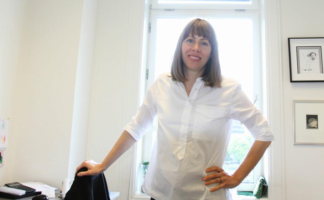 Ansvarlig redaktør Anna B. Jenssen vil sammen med Morgenbladet-styret diskutere den bråe avgangen til redaksjonssjefen på sitt møte førstkommende fredag. Arkivfoto