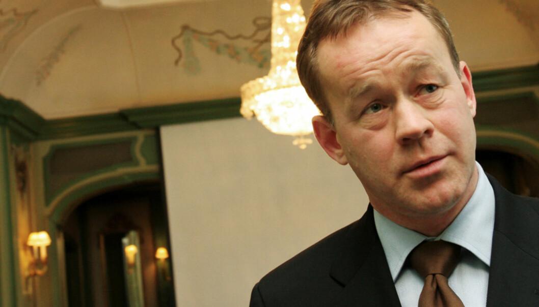 Sjefredaktør og administrerende direktør Amund Djuve i Dagens Næringsliv. Arkivfoto Journalisten