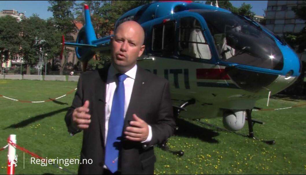 Justis- og beredskapsminister Anders Anundsen. Foto: Regjeringen