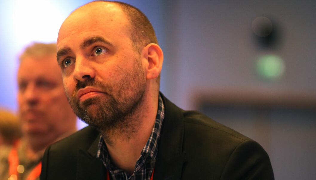 Arild Grande i Arbeiderpartiet er ikke fremmed for å se på hele medieeierskapsloven. Foto: Martin Huseby Jensen