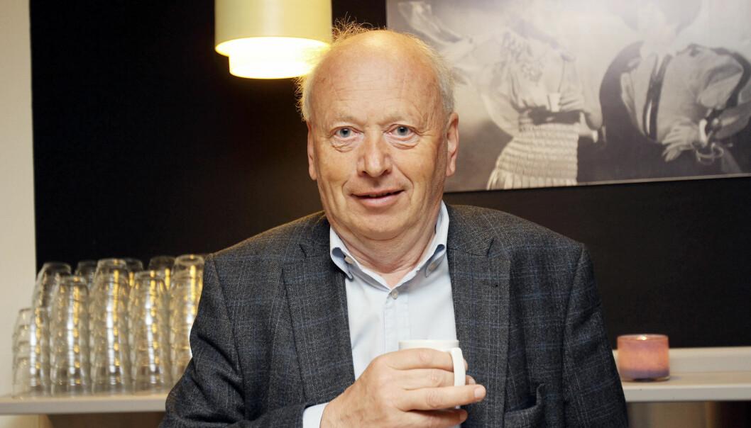 Avisinvestor Odd Reidar Øie har minoritetsposter i en rekke norske aviser. Foto: Birgit Dannenberg