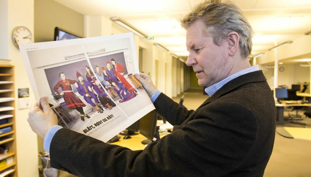 Arve Løberg dropper redaktørrollen og blir administrerende direktør for både avisa og konsernet Trønder-Avisa. Foto: Kathrine Geard