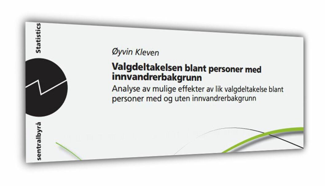 SSB-rapporten Norsk Folkehjelp bestilte.
