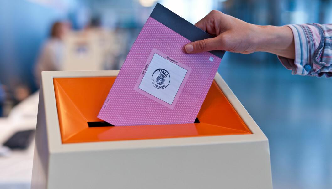 Hvilket parti får flest stemmer og ordførere under årets valg? Foto: Kommunal- og moderniseringsdepartementet