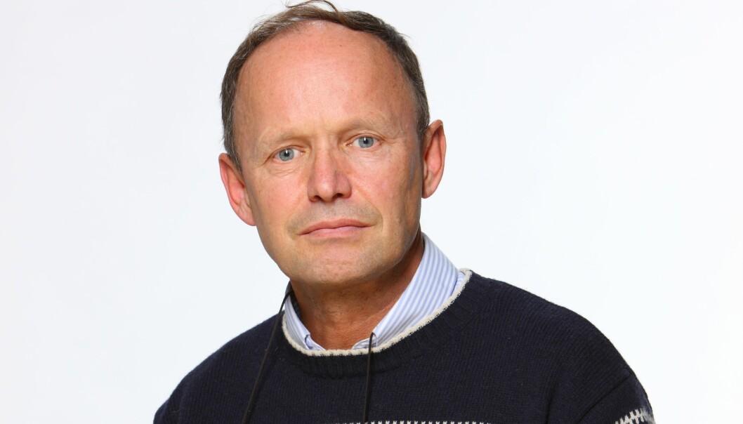 Alexander Berg jr. er leder av redaksjonsklubben i Egmont Publsihng. Foto: Foto: Bjørn Inge Karlsen