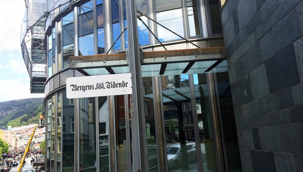 Inntektene sviktet stort i fjor, men Bergens Tidende kunne glede seg over et solid redaksjonelt år. Foto: Birgit Dannenberg