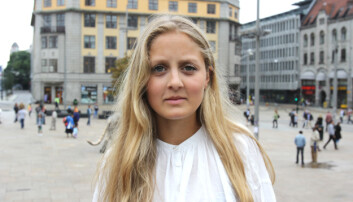 Mina Liavik Karlsen. Arkivfoto: Glenn Slydal Johansen