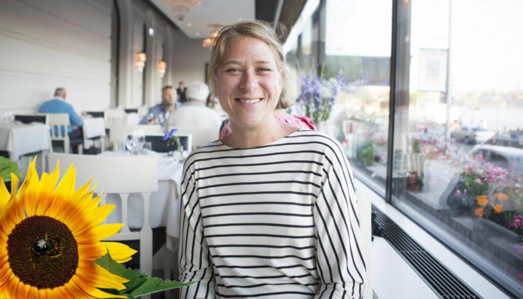 Hamburg, hytta og Stockholm er reisemål for Anette Selmer Andresen i sommer. Foto: Privat