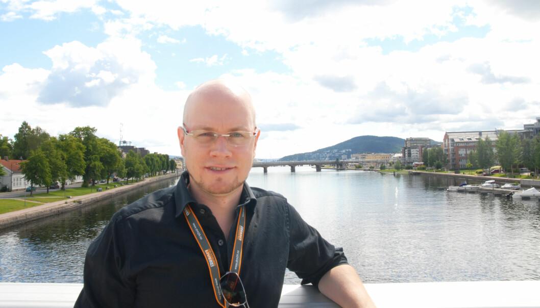 Ansvarlig redaktør Alexander Jansen. Foto: Martin Huseby Jensen