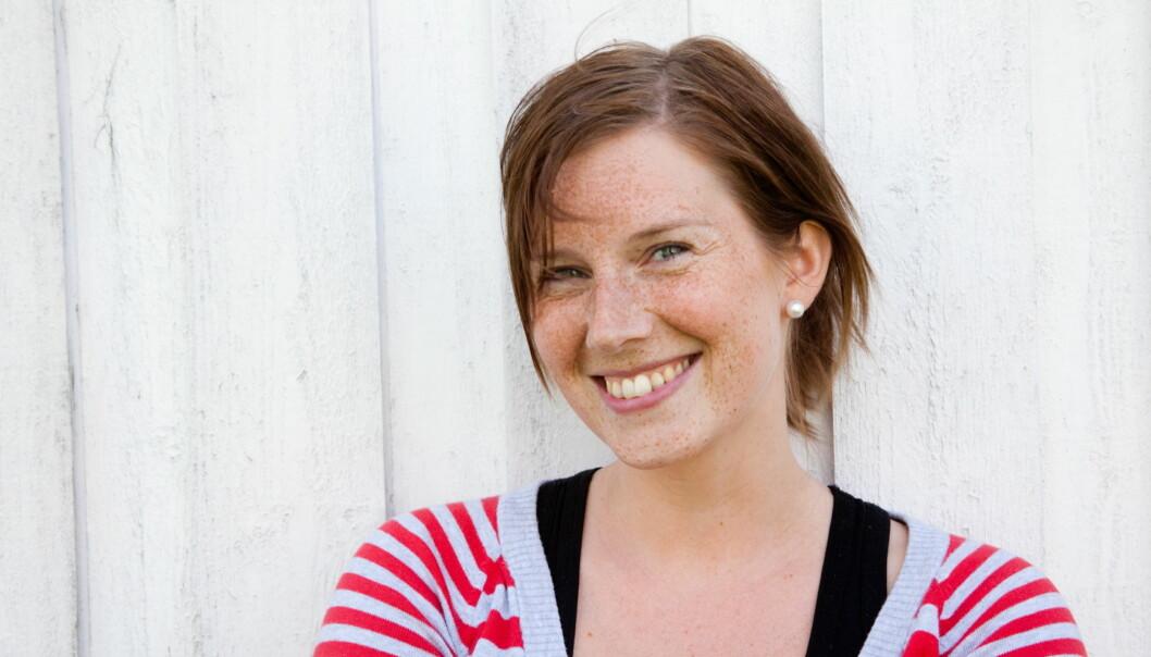 Elin Sofie Lorvik fra innherreds Folkeblad/Verdalingen blir snart redaktør i Sunnmøringen. Foto: Kathrine Geard