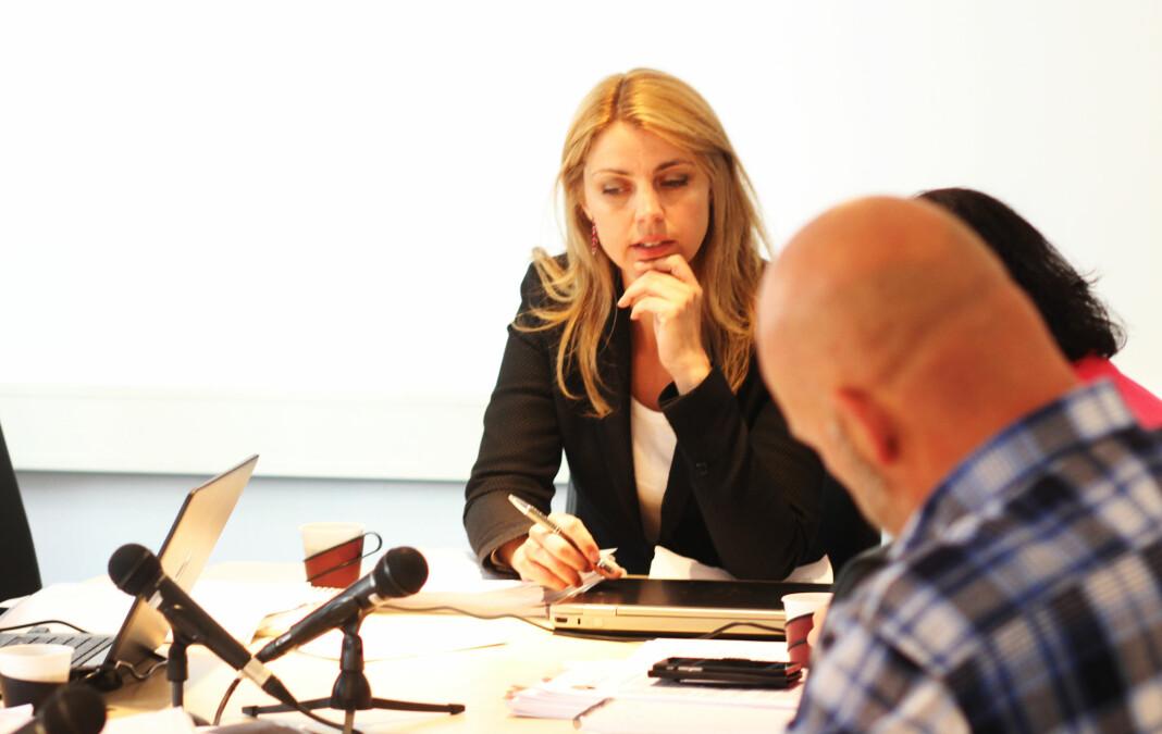 Dagbladet-utlysning vakte oppsikt. Her ved ansvarlig redaktør Alexandra Beverfjord.