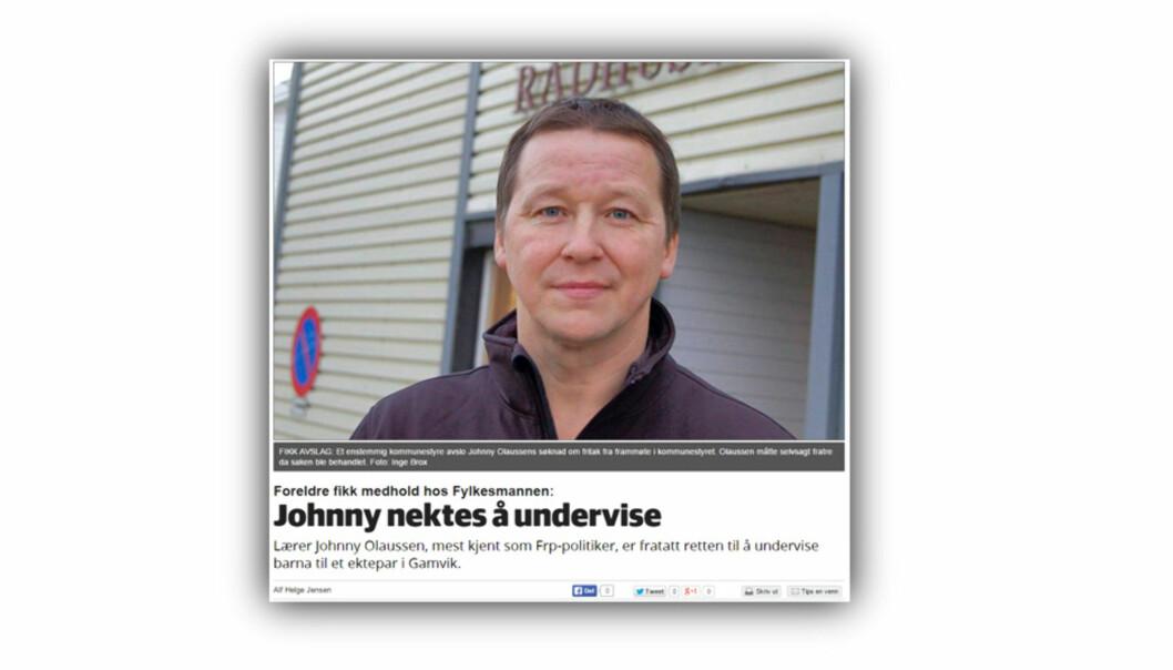 Denne artikkelen i Finnmarken/iFinnmark er innklaget til PFU.