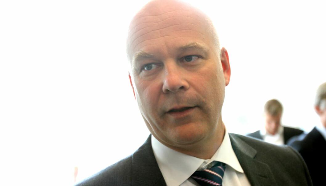 Kringkastingssjef Thor Gjermund Eriksen må fortsette å forholde seg til en styreleder utnevnt av Kulturministeren dersom et flertall av de politiske partiene får bestemme. Arkivfoto: Martin Huseby Jensen
