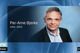 NRKs Per Arne Bjerke er død
