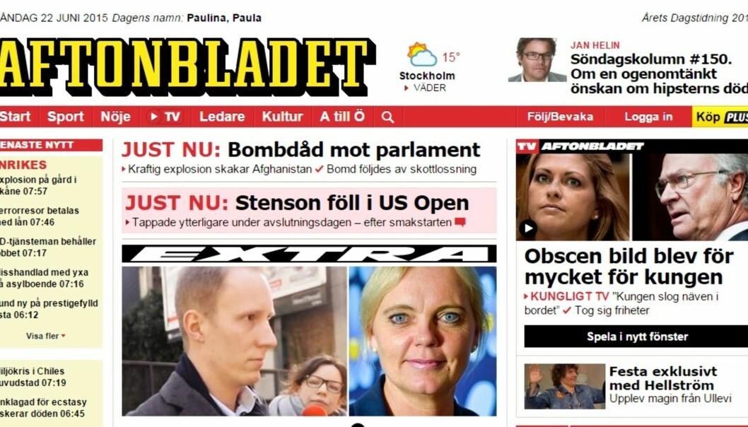 Schibsted eier 91 prosent av Aftonbladet og skal ifølge konsernledelsen ikke være interessert i å selge.