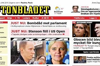 Bonnier skal være interessert i å kjøpe Aftonbladet fra Schibsted