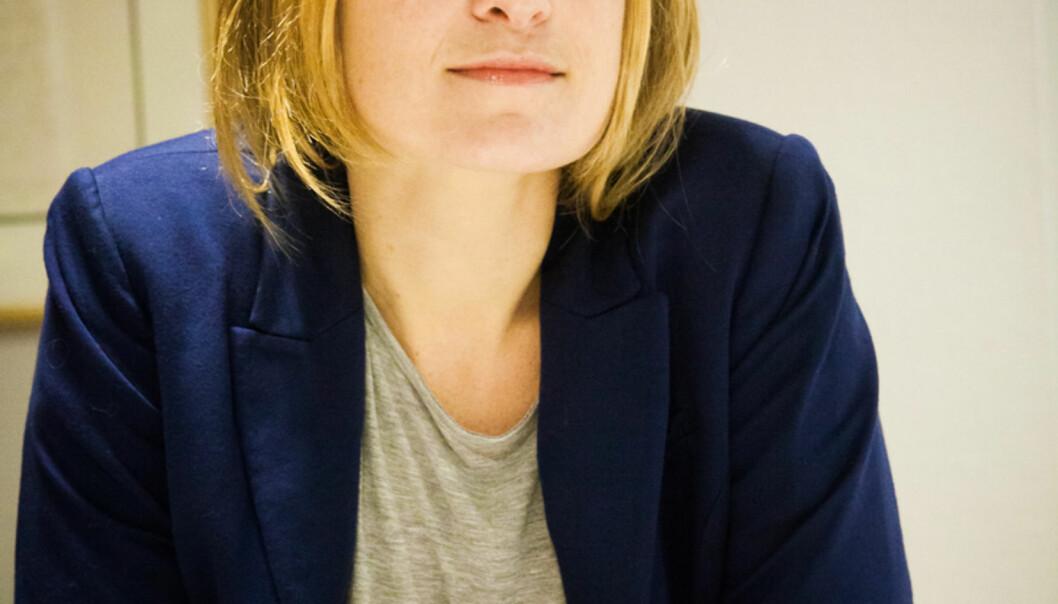 Jurist Kristine Foss i Presseforbundet og Offentlighetsutvalget. Arkivfoto