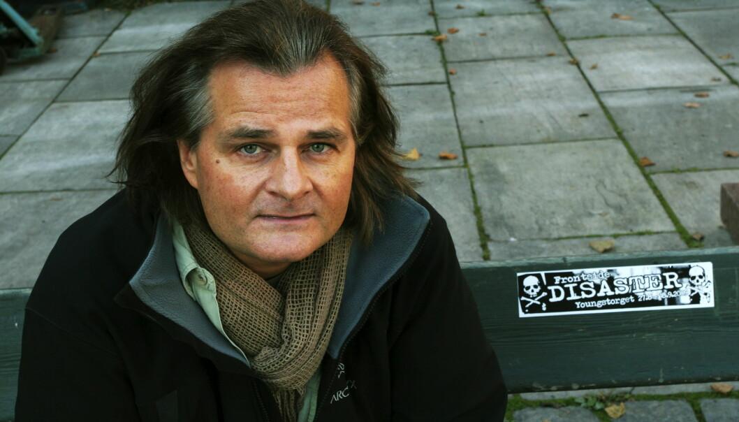 VG-fotograf Harald Hensen får årets Røde Kors-pris. Foto: Kathrine Geard