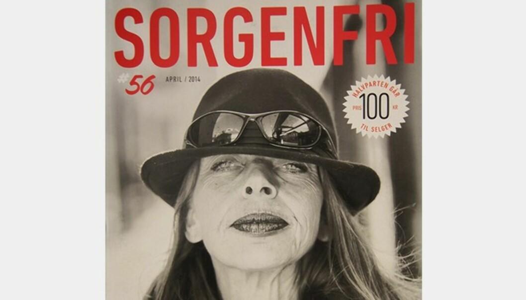 Gatamagasinet Sorgenfri i Trondheim kjemper om pris i den internasjonale INSP-konkurransen.