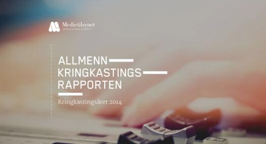 NRK oppfyller nesten alle krav