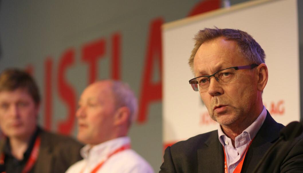 Sjefredaktør John Arne Markussen i Dagbladet. Arkivfoto Journalisten
