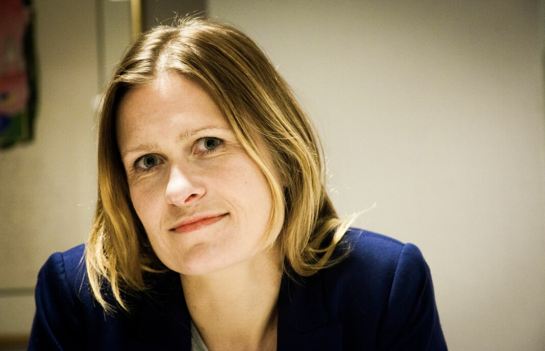 Kristine Foss, jurist i Norsk Presseforbund, reagerer på brevet ledelsen ved Universitetet i Bergen har sendt. Arkivfoto: Kathrine Geard