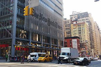 Avisbransjen i USA redusert med 60 prosent på 26 år