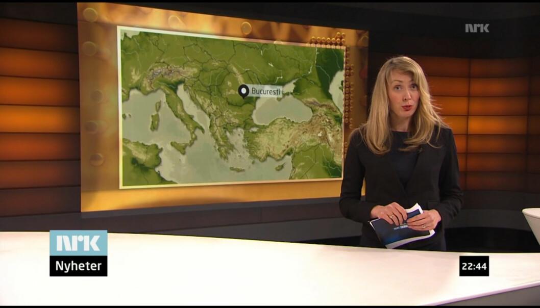 Hege Moe Eriksen alternerer med Gry Blekastad Almås om å lede Urix på NRK2. Foto: NRK