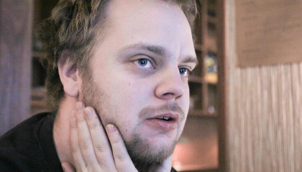 Mímir Kristjánsson. Arkivfoto Journalisten