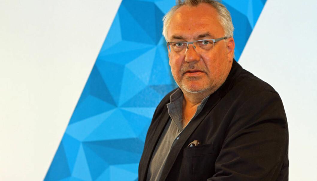 Redaktør Tor Strand i ABC Nyheter. Foto: ABC Nyheter