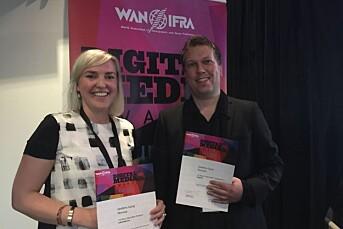 VG, NRK og Aftenposten tok med seg priser