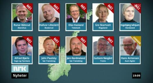 NRK overdriver søndagsåpent-motstanden i Venstre