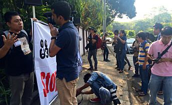 KOMMENTAR FRA 2015: Democratic Voice of Burma frykter de må flytte tilbake til Norge