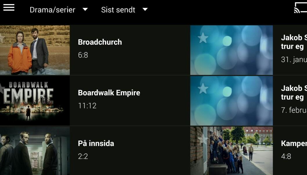 NRKs tv-app er en av fire nominerte til hederspris for god design.