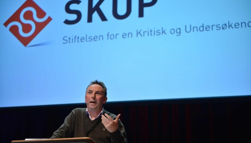 Gjenvalgt Skup-leder Jan Gunnar Furuly står foran en del utfordringer. Foto: Marius Nyheim Kristoffersen/Skup