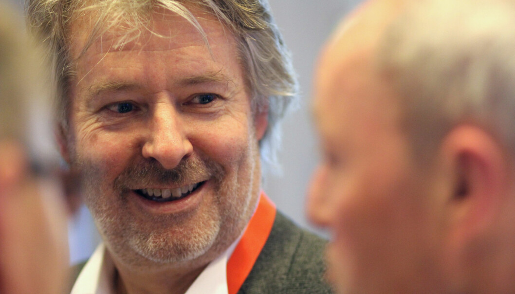 Torry Pedersen mener finansdepartementet tar feil når TV-distributørene får nullmoms. Arkivfoto: Martin Huseby Jensen