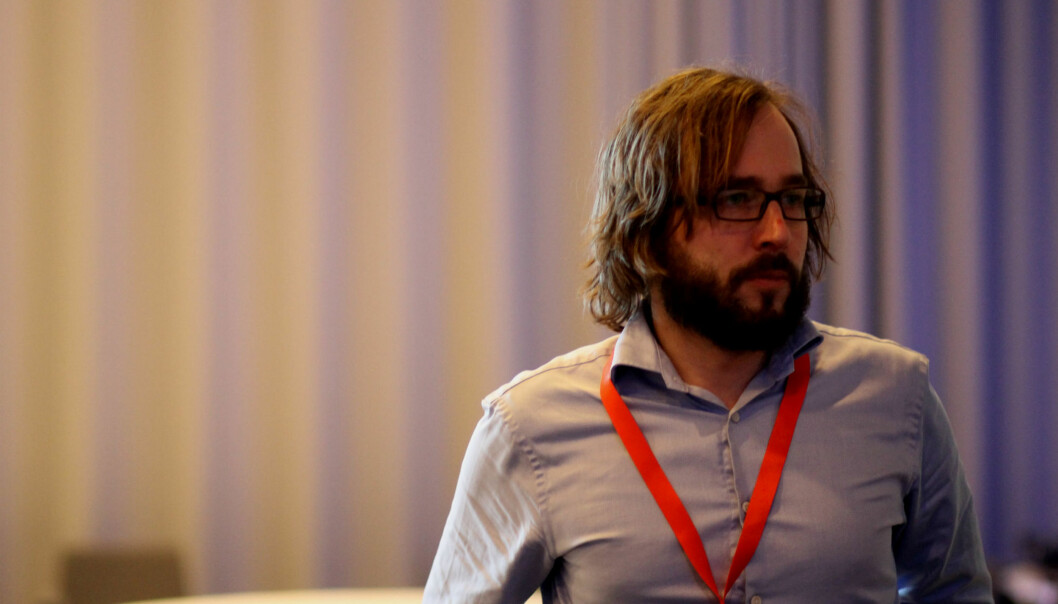 Harald Klungtveit i Dagbladet er kandidat til landsstyret og en av anførerne i arbeidet for å beholde en tydelig avgrensing mot informasjonsarbeid i vedtektene. Foto: Martin Huseby Jensen.