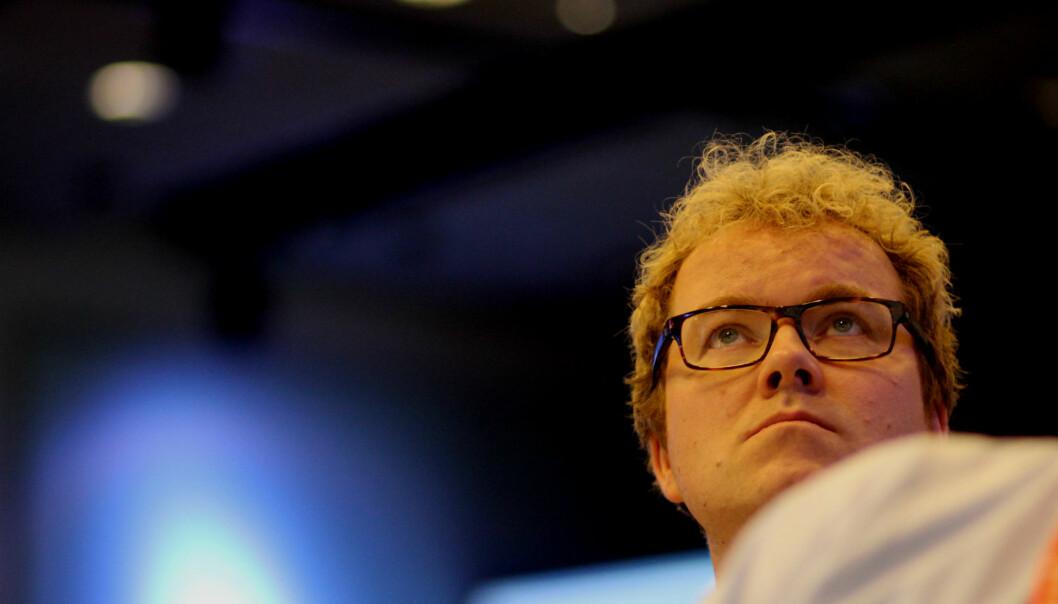 Statssekretær Bjørgulv Vinje Borgundvaag fra kulturdepartementet. Foto: Martin Huseby Jensen