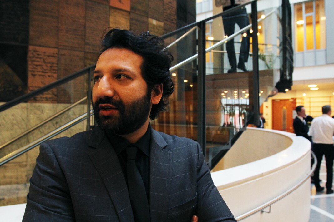 Kadafi Zaman forteller til TV 2 at han siden pågripelsen har vært fengslet i en celle med 21 andre personer. Arkivfoto: Martin Huseby Jensen