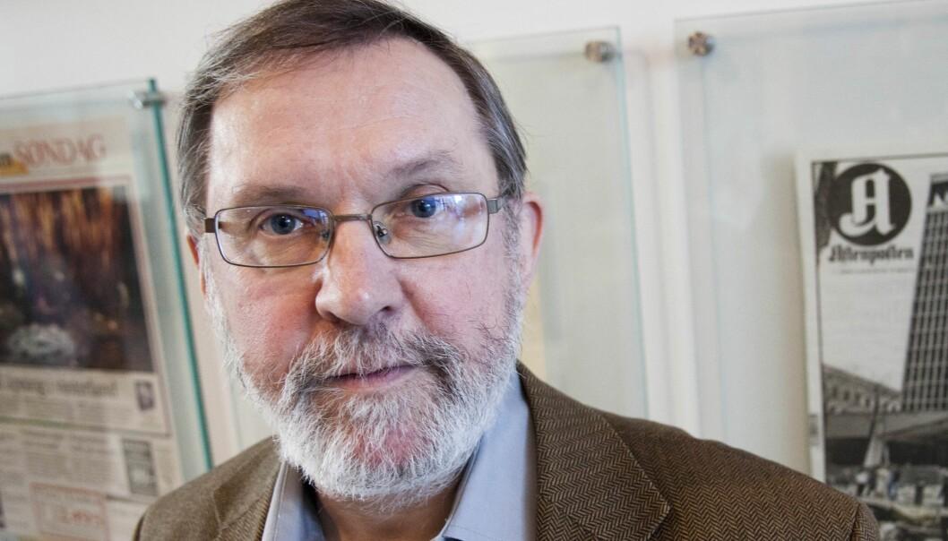 Harald Stanghelle er styreleder i Norsk Redaktørforening. Foto: Kathrine Geard