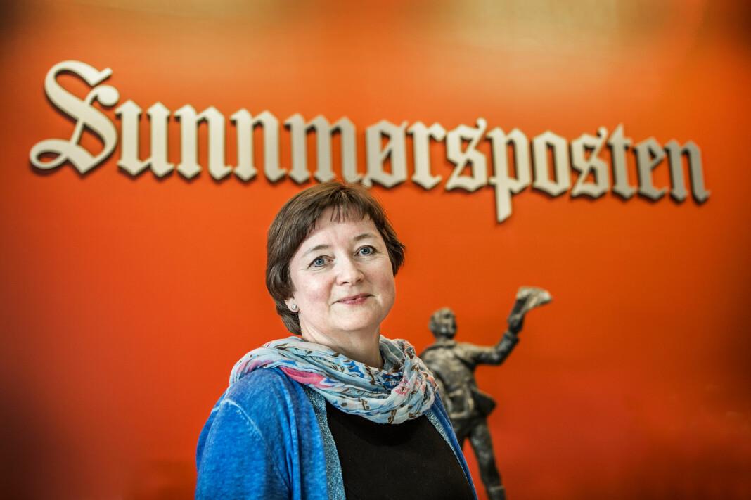 Hanna Relling Berg, ansvarlig redaktør i Sunnmørsposten, én av avisene som er under Polaris.