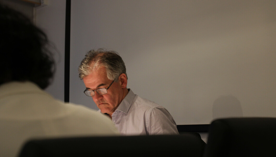 Alf Bjarne Johnsen. Arkivfoto: Martin Huseby Jensen