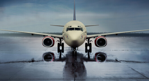 SAS dropper papir på flyene